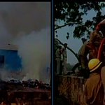 RT @ANI_news: Delhi: Fire break out at Shastri Park slum area, fire tenders douse flames http://t.co/KoydWttVdu