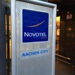 Alles bereit für den #smdac14 (@ Novotel Aachen City in Aachen, Nordrhein-Westfalen) https://t.co/0mQtkfGnj6 http://t.co/SdhzUioM7y