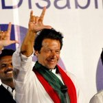 "PTI Chairman Imran Khan says ""I Love You"" to all special persons in sign Language :) http://t.co/7ws6f6eAno"