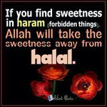 RT @RemindersHadith: #Say NO to haram #Say No to haram relations #B smart dont get trapped by any1 #B precious #Live halal #Love halal ♥ http://t.co/J8mGePrRIy