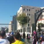 على مضمار الماراثون مرورا بمديرية الدفاع المدني فبنك الاتحاد @RunJoOfficial #RunJordan #AmmanMarathon http://t.co/JX0ZnA7w9C