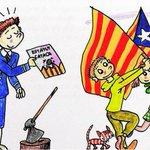 """El ayuntamiento de Barcelona subvenciona libros de 2Historia de Cataluña"""" como el de la ilustración con 90.595€. http://t.co/2mzgchbsPn"""