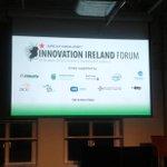 RT @carpenter1fiona: Stage is all set for the @siliconrepublic Innovation Ireland Forum #IIF14 @markcastleman @BellLabs http://t.co/9BIm4kji8C