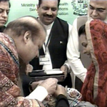 RT @SaimaFarooq: Prime Minister Nawaz Sharif has expressed the commitment of the govt towards eradicating Polio. #WorldPolioDay http://t.co/ZiYfXhs7RT