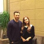 Fantastic 4 Reunion! The Storm Siblings - Chris Evans & Jessica Al... oh wait they got the wrong Jessica. http://t.co/5RaXaGaHd3