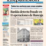 RT @expansioncom: #PortadaExpansión Bankia perdió 1.700 millones por 11 operaciones irregulares de Bancaja. http://t.co/hAVsUfEa7U http://t.co/IkonPfBm2W