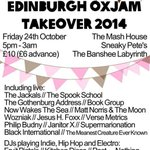 #Edinburgh youre spoiling us today: http://t.co/6QnbOtYiI9 @edinburghoxjam @ThePondLeith @EdinburghRugby http://t.co/00LhmJ4oQh