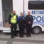 """""""@BulwellPolice: CPO Loizou, PCSO Hardstaff & PC Homan, Council and police work together. http://t.co/ZRFT9krNil"""" @SafeNottm @Errington2012"""