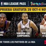 El League Pass de la NBA, GRATIS hasta el 4 de noviembre. ¡Apúntate! http://t.co/iYY2Nf8Irs http://t.co/uQjkrBUhxX
