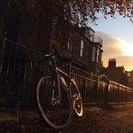Autumn #cycling to work in Bridge of Allan, #Scotland @BBCSpringwatch @VisitBofA http://t.co/SGIXJzKRCp