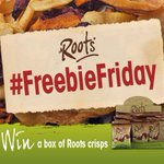 RT @rootscrisps: Ready for a #FreebieFriday? Follow & RT by midnight to #win a box of our crisps. T&Cs apply http://t.co/djhR8MYNbb http://t.co/JUZPUQcHgS