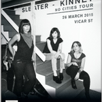 RT @aikenpromotions: Harmonic presents Sleater-Kinney, @Vicar_Street Dublin, March 26th. Tickets on sale now http://t.co/FXLwEFWext http://t.co/SLERWwVI1s