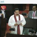 Sri Lanka President is presenting the 2015 National Budget http://t.co/OrOexsFDgY #LKABudget Sri Lanka #LKA http://t.co/LHZjtXYw7S