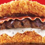 KFC unveils breadless meat beast burger with fried chicken acting as buns http://t.co/4s1DQkh72L http://t.co/yFiOwHEvUo