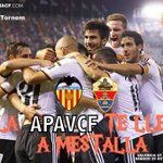 La #APAVCF sortea 6 entradas para el partido LigaBBVA #VCF-ELCHE Solo tienes que seguirnos y hacer RT para concursar http://t.co/CF3eJPfpBH