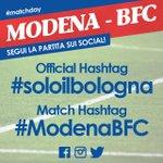 Segui il Live Match del #derby di questa sera sui Social Rossoblù! #ModenaBFC #soloilbologna http://t.co/5g5ElBj9hz