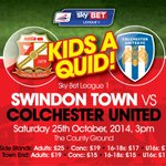Its Kids a Quid tomorrow - buy your tickets online today via http://t.co/4u2Uc5RrXD #STFC http://t.co/fiOYnJBFwz