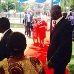 .@FirstLadyKenya arrives @un. She has been recognized as the UN Person of the Year #Kenya 4 work 2 #endmaternaldeaths http://t.co/VnB26xgMzn