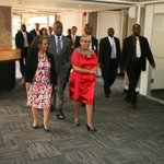 RT @FirstLadyKenya: First Lady Margaret Kenyatta arrives at the UN Complex in Gigiri for the United Nations Day celebrations. http://t.co/aVkce8CRch