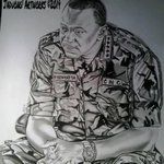 """""""@KinyanBoy: With just a PENCIL,a young man in Kisumu made this PHENOMENAL drawing @OleItumbi << Talent at its best. http://t.co/uGS2i5cX8s"""
