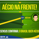 RT @AecioNeves: O Brasil quer Aécio Presidente! Não dá para esconder o sentimento que vem das ruas.#VotoAecioPeloBR45IL http://t.co/fg90nI61KT