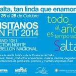 #Salta te espera desde mañana en #FIT2014 para planificar tu #VeranoenArgentina!!! Todo el año es temporada Salta!!! http://t.co/Fv8KGYR53T