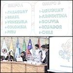 #SudamericanoSub17Py Los grupos definidos para el Sudamericano. http://t.co/wa2HiSVQbi