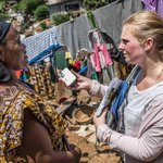 Holly Taylor volunteered to go to Ebola-ravaged Sierra Leone w/ @OxfamAmerica. Diary excerpts: http://t.co/l5rUOnIZwM http://t.co/u9F7zt2mzy