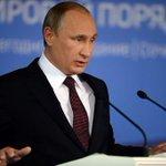 RT @AnyaGnutova: Ай да ПУТИН! КЛАСС !Речь ПУТИНА-ОТВЕТ на санкции...! СУПЕР! ГОРДО, ЧЁТКО, ПОНЯТНО!!!МОЛОДЕЦ ! НАШ ПРЕЗИДЕНТ!!! http://t.co/WZUfcdDINS