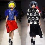 """なんか世の中っていろんな服あるのね。""""@fashionpressnet: ジュンヤ ワタナベ・コム デ ギャルソン 2015年春夏コレクション - ポップな""""図形""""の世界 http://t.co/iCtvPhD30G http://t.co/fSZYbv7Ag0"""""""