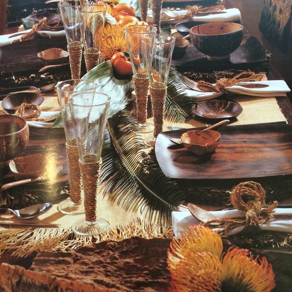 Wood and muted oranges work really well together for an autumnal look. http://t.co/5h5cjQt1dL
