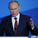 #ВАЛДАЙ Путин: российский «медведь» ни у кого разрешения спрашивать не будет, и своей «тайги» не отдаст #мир24 http://t.co/HbbTGyaA2e