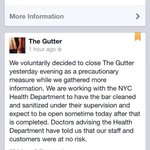 """Bowling alley visited by NYC Ebola patient posted on Facebook about """"precautionary"""" closure. h/t @VivianHYee http://t.co/BvUuLTQgwI"""