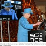 RT @WSJ: Did the Queen actually tweet? Spokesman said she didnt type the historic tweet herself. http://t.co/m4dwHPRtB5 http://t.co/FrUUbGicex