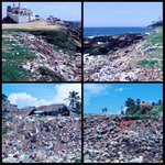 Vizhinjam Beach, a splendid site ruined by filth&garbage, which I will clean w/local residents tomorrow 25/10 at 11am http://t.co/rMywkClikJ