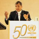 "RT @EcuadorTV: Presidente @MashiRafael exige a Obama ""que nos deje en paz"" http://t.co/qtIJbAmQhM http://t.co/MFyklhgLRB"