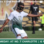 RT @UAB_MensSoccer: It's GAMEDAY! @UAB_MensSoccer faces No. 7 Charlotte at 6 p.m. CT tonight! #GoBlazers http://t.co/CGFesHyd62