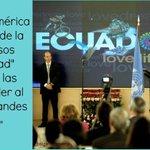 #GiraPresidencial ¡Orgullo ecuatoriano! Pdte. @MashiRafael en #ConferenciaMagistral #UNCTAD #Ginebra #SomosPatria http://t.co/55qlN3lasE