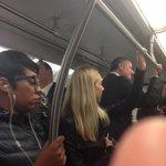 RT @GunaRockYa: RT @msambergreene: Mayor de Blasio takes @MTA 5 Train this morning @NYCMayorsOffice #Ebola #NYC http://t.co/fXOqEQlI7F