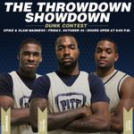 Spike&Slam Madness tonight - The Throwdown Showdown Dunk Contest. Free admission. Doors open @ 6pm - Fitz Field House http://t.co/0UFMbyqKzK