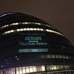 If you want political power, become political power. #ReLOVEution by @rustyrockets on the #London streets last night http://t.co/uusQi6eqrM