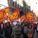 RT @usbsindacato: #24o #sciopero #scioperogenerale24o Le Piazze: #Roma http://t.co/1kdpj7cWZE