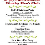 RT @WortleyMensClub: Our Xmas line up, make your plans now ! #sheffieldissuper #Barnsleyisbrill #IloveS #IloveLS #IloveHD @BarnsleyCAMRA http://t.co/X3N1pTMjzr