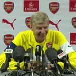 "RT @MickTheGooner: Wenger on Lamelas Rabona finish: ""I didnt see it. I fell asleep!"" ???? http://t.co/fuPPyhe8Jn"