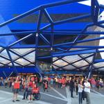 #RedArmy outside @PerthArena getting ready to see the @PerthWildcats take on the @SydneyKings #GOWILDCATS http://t.co/zFk3R14MwD