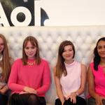 .@Huffpolifestyle is looking VERY pink to honour #wearitpink @bccampaign @tashahinde @rachelmoss_ @HuffPostPoorna http://t.co/YzUqwgcmSY