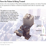 The Ebola patient in New York City will be treated in the Bellevue Hospital Center http://t.co/YgVPkxoGxg http://t.co/klO1hrFLan