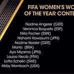 ¡¡Enhorabuena @VeroBoquete!! Estar en la lista para el Balón de Oro es ya un premio para el fútbol femenino español https://t.co/xBpx06POvb