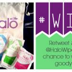 RT @HaloWipes: It's #FreebieFriday! RT and follow us over the weekend for the chance to #win a free Halo goody bag! http://t.co/7sXVvTgyOO