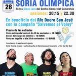 RT @desdeSoria: Soria Olímpica ayuda al voleibol de Soria desde el escenario: 28 de noviembre. http://t.co/XxRMPXTk09 http://t.co/HHcMmTVO8v